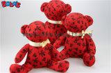 Ofertas personalizadas Novo Projeto Peluche Teddy Bear na cor preta com fita rosa