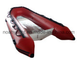 Talla inflable los 300-360cm del barco de la costilla inferior de cristal de V