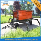 Mobile Aerial Scaffold Work Platform with Wheels