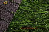 Natürlicher Blick-künstlicher Rasen für Fußballplatz-lange Lebensdauer mit SGS-Bescheinigung