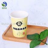 Té verde dentro de la taza de té de papel disponible al por mayor para el aeropuerto