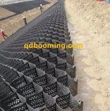 Preto Geocell Geoweb do HDPE do edifício de Contruction