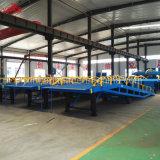 세륨 ISO 증명서를 가진 6-12ton 1.1-1.8 고도 중국 공급자 트럭 콘테이너 선착장 경사로