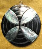 方法衣服DIYの自然なココナッツシェルのスナップは宝石類にアクセサリボタンをかける