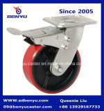 """8"""" железный сердечник самоустанавливающиеся колеса для тяжелого режима работы со стороны колеса и тормоза"""