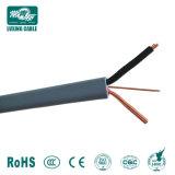 Usine de câbles BVVB 2 Core 6mm2 Câble électrique