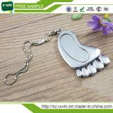 Mini clé de mémoire USB de cadeau de pied promotionnel en métal