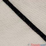 Черное полотенце чистки Microfiber Терри