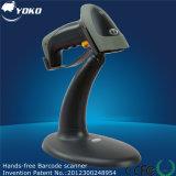 Scanner de codes à barres à balayage automatique 1d Laser