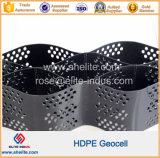 Le PEHD de protection de la pente de géocellules en HDPE de géocellules