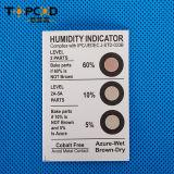 非コバルトが付いているカラー変更のHicの湿度指示剤のカード