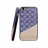 Caixa híbrida do telefone móvel da pasta TPU do plutônio para iPhone-Roxo