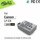 1800mAh de digitale Batterij van de Camera voor Canon lp-E8 Lpe8