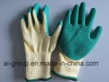 Handschoenen met Latex voor het Werken met een laag worden bedekt die