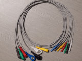 Câble du joncteur réseau ECG de GE-Rozinn Snap&Clip DIN 7