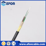 2 12 24 Revestimento único do núcleo Aramid Yarn Non-Metal ADSS Fiber Optical Cable