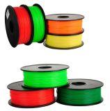 filament de PLA de fibre de carbone de 1.75mm pour la couleur de noir de l'imprimante 3D