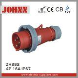 IP67 4p 16A Stecker für industrielles
