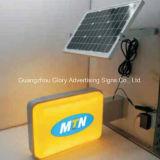 Voyant solaire solaire du cadre léger DEL de signe de route