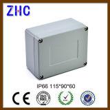 Elektronische des Gebrauch-120*120*82 Schutz-Stufe druckgegossener Aluminiumkasten Projekt-des Gehäuse-IP66