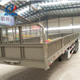 Flachbettspeicherauszug-halb Schlussteile der China-Fertigung-3axle mit seitlicher Wand