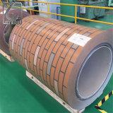 a cor Ral9016 de 0.38mm revestiu a bobina de aço galvanizada Prepainted
