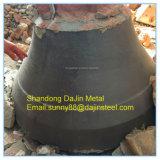 Placa do forro da bacia das peças sobresselentes do desgaste do triturador do cone de Metso