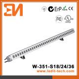 Arandela de la pared de la iluminación de la fachada de los media del LED (H-351-S24-W)
