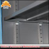 Armário do arquivamento da porta de balanço do metal do uso do escritório Jas-008 com a prateleira 4 ajustável