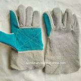 Коровы Split кожаные перчатки экспортером в Китае