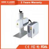 Gravador pequeno do laser para o metal 30W 50W 100W
