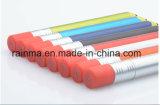 Crayon lecteur de bille en plastique d'aiguille de forme de crayon de qualité pour Smartphone