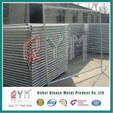 Используемая конструкцией фабрика загородки Австралии стандартная временно ограждая временно