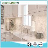Parte superior contrária de quartzo de 2016 brancos/bancada Prefab cozinha de quartzo/barato bancada