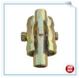 سقالة غلفن يضغط فولاذ قابل للتوسيع سقالة أنابيب مقرنة داخليّة مشتركة