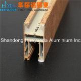 Portes en aluminium et Windows de profil des graines en bois