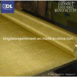 フィルター液体によってひだを付けられる真鍮の金網の布