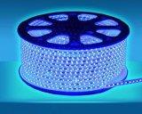 Tira flexible impermeable de la luz de la cubierta de epoxy 3528 SMD, 5m/Reel, 150PCS LED/luz del árbol de navidad del carrete LED