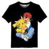 형식 면 짜임새 싼 남자의 관례에 의하여 인쇄되는 t-셔츠