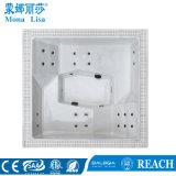 Acrílico Compact-Style Piscina gran bañera de hidromasaje para 6 persona (M-3384)