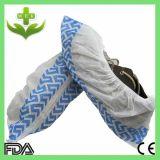 雨防水プラスチック上塗を施してあるPP Nonwoven靴カバー