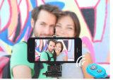 Fechável Selfie Stick Bluetooth Remote Shutter