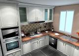 Yijia新しいデザインCostomizedの食器棚