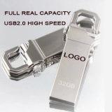 movimentação da pena do disco instantâneo USB2.0 do USB 1GB para a vara do USB do presente da exposição