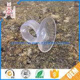 Copo da sução da borracha de silicone do otário do tirante do vácuo do OEM mini
