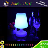 16 Color-Changing Illuminated Decoration Glow LED Lampe de table