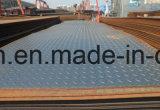 Piatto Checkered d'acciaio laminato a caldo di JIS/GB/ASTM A36/Q235B/Ss400/Q345b/45#