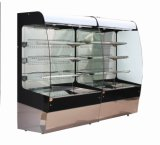 Hot Sale Commercial Refrigerated Supermarket Cortina Showcase Display Cooler