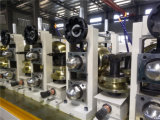 Línea de la prensa de batir del tubo de acero, tubo de China que hace la cadena de producción