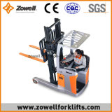De mini Elektrische Vrachtwagen van het Bereik met de Capaciteit van de Lading van 2 Ton 1.6m het Opheffen Hoogte